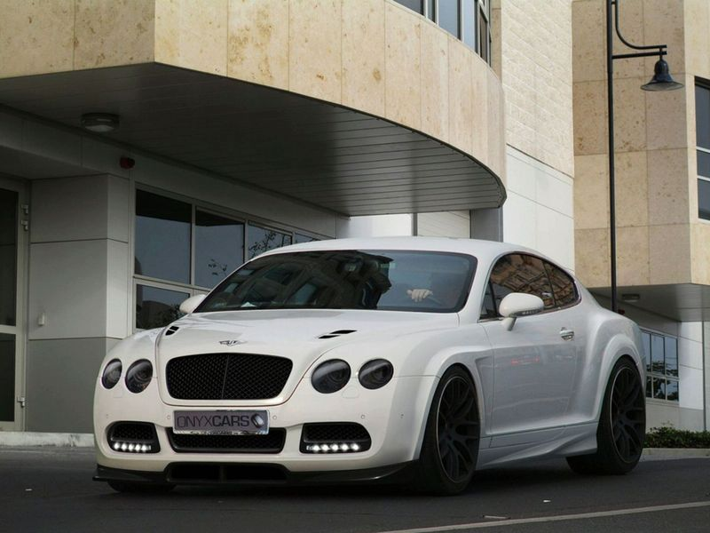 Bentley Continental Platinium GTO